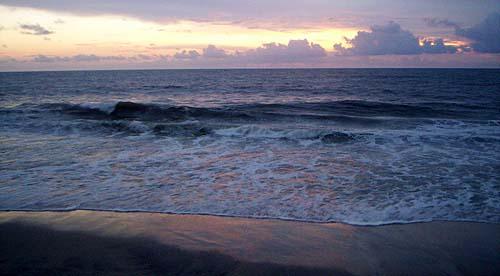 Керала, Амритапури, закат