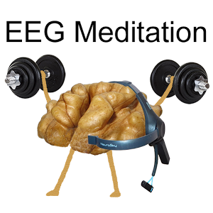 'EEG Meditation' app for Android for meditation practice for NeuroSky MindWave Mobile headset