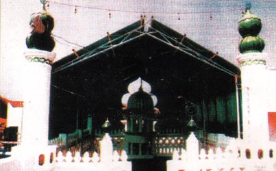 The Masjid Presented by Bhagavan Sri Sathya Sai Baba at Puttaparthi.